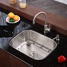 faucet com kbu12 in stainless steel by kraus pertaining to undermount sink ideas 4 kraus 33 x 19 double basin undermount kitchen