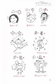 Japanese Easy Drawing Book Kawaii Funny Doodle Bullet Journal