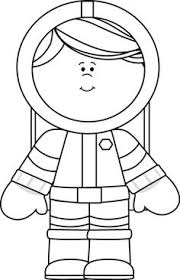 black and white astronaut. black and white girl astronaut a