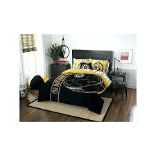 steeler bedding sets post pittsburgh steelers crib bedding sets
