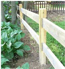 We protected the deck, driveway, and garden. How To Make The Most Of A Split Rail Fence On Your Backyard