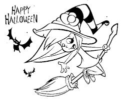 Disegno Di Una Strega Di Halloween Da Colorare Acolorecom
