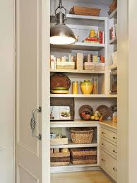 Kitchen: Small Pantry Shelving Decor - Kitchen Storage