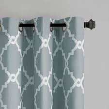 madison park essentials merritt geometric curtain panel reviews wayfair