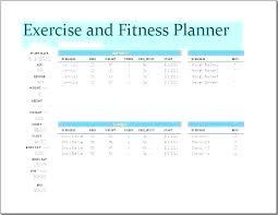 Blank Weight Lifting Chart Beautiful Workout Template