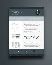 Free Material Resume Template In Photoshop Psd Illustrator Ai