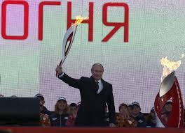 Эстафета Олимпийского огня история правила традиции История  Фото globallookpress com