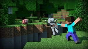 Minecraft Wallpaper Steve Kill Skeleton ...