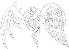Angel Coloring Pictures Campoamorgolfinfo