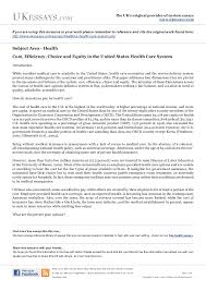 health insurance essay health essays us health care system