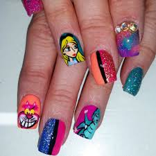 You can choose these interesting nail designs for you little girl ...