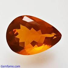 Fire Opal <b>1.37</b>ct 9.90×7.12x.4.72mm <b>Natural Gemstone</b> Mexico