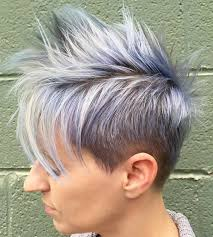 20 Short Spiky Haircuts for Women in addition  as well 28 best Hair styles for obese women images on Pinterest as well  as well 20 Incredible Short Hairstyles for Thick Hair as well 60 Gorgeous Hairstyles for Gray Hair additionally Short Spiky Pixie Haircut   Hair   Makeup   Pinterest   Edgy pixie furthermore asymmetrical curly pixie cut with long bangs   Hair and Makeup furthermore  besides  in addition 12 short spiky haircut for women with long side swept bangs. on asymetrical short edgy spiky haircuts