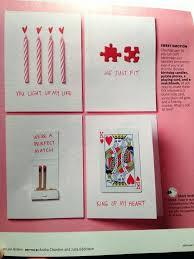 diy anniversary cards for boyfriend