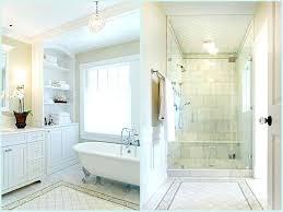 master bath showers ideas white tile shower bathroom double