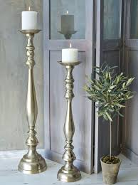 floor candlestick holders black floor candle holders