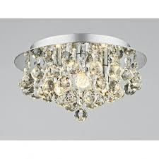 modern ceiling lighting uk. plu5250 pluto 3 light modern ceiling flush polished chrome finish lighting uk l
