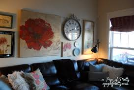 wall art ideas above couch wallartideasinfo