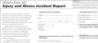 Employee Incident Report Template Gorgeous Accident Report Template Dent Investigation Employee Auto Form And