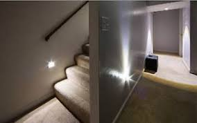 image is loading stair lighting silver 6 led stair light automatic automatic led stair lighting