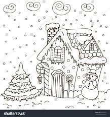 gingerbread house coloring sheet best gingerbread house coloring pages for kids pictures detailed
