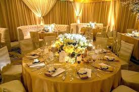 small round gold tablecloth black and table decorations kitchen licious silver centerpieces for tab