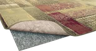 natural rubber rug pad natural rubber rug pad oriental weavers all n one multi surface rug