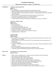 Administrator Resume Examples Admin Resume Examples As Well Assistant Sample Australia With Format