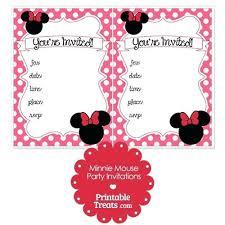 Minnie Mouse Blank Invitation Template Minnie Mouse Invitation Template Cafe322 Com