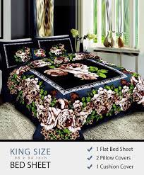 king size bed sheet ab 105 bed sheet cotton king size perfecthome