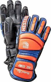 New Hestra Rsl Comp Vertical Cut Race Leather Gloves Size 6