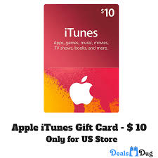 apple itunes gift cards from india worth usd 10