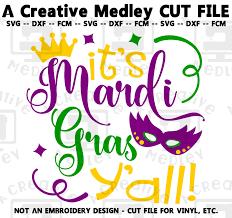 Mardi Gras Designs Its Mardi Gras Yall Cutting File