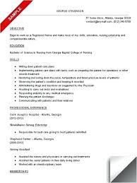 Nursing Student Resume Example Interesting Nursing Student Resume Sample Form Nurse Letsdeliverco