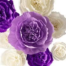 Paper Flower Wedding Decorations Amazon Com Paper Flower Decorations Crepe Paper Flowers Large