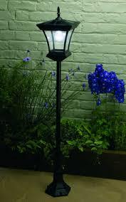 Solar Magic 168m 6led Black Al Rialto Solar Post Light Gl77 Solar Garden Post Lights