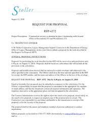 Construction Proposal Letter Sample Construction Proposal Letter Musiccityspiritsandcocktail Com