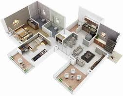 3d home plans awesome bright inspiration modern house floor plans
