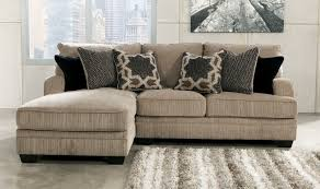 small sectional with chaise lounge. Fine Small L  Shape Gray Canvas Upholstered Couch With Left Chaise Lounge On  Concrete Floor 930x550 Inside Small Sectional N