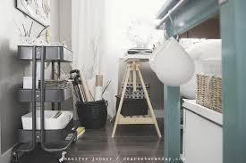 ikea office supplies. Ikea Raskog Cart Ideas For Storing Office Supplies And Craft Stuff In This Cute Gray Trolley Style