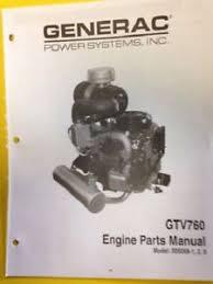 dixie chopper generac gtv 760 engine parts manual model 005058 1 2 3 image is loading dixie chopper generac gtv 760 engine parts manual