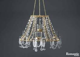 crystal chandelier kits from lampshade diy centerpiece