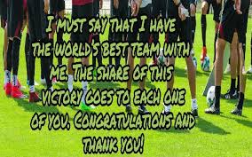 thank you messages for sports team