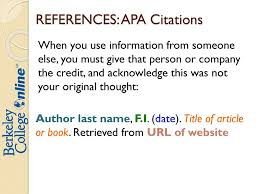 Citing Resources Using Apa Formatting Ppt Download