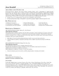 dance instructor resume sample cipanewsletter clinical instructor resume template