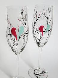 hand painted wedding glasses. like this item? hand painted wedding glasses i