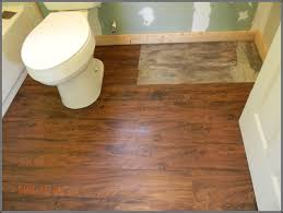 how to install floating vinyl plank flooring around toilet