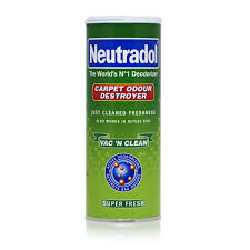 carpet deodorizer. neutradol carpet deodorizer vac n clean super fresh 350g