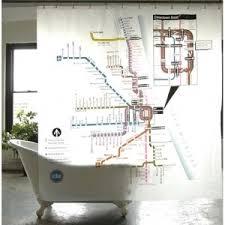 novelty shower curtains. Winsome Inspiration Novelty Shower Curtains Peva Chicago Subway Curtain Polyvore E