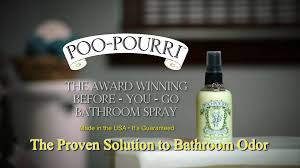 Poo Pourri Before You Go Bathroom Spray Deodorizer YouTube - Best bathroom odor eliminator